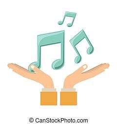 Los símbolos de la música
