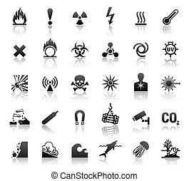 Los símbolos negros amenazan a los iconos