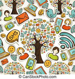 Los símbolos sociales de los árboles