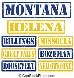 Los sellos de Montana