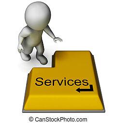 Los servicios muestran asistencia o mantenimiento