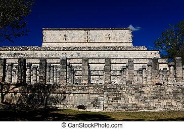 Los templos de Chichen Itza