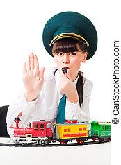 Los trabajadores del ferrocarril atacan