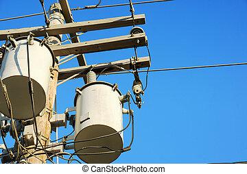 Los transformadores de electricidad y el cielo