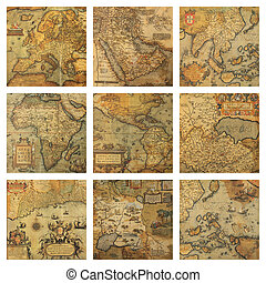 Los viejos mapas colisionan