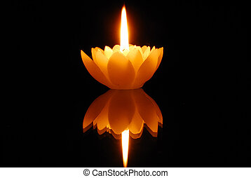 loto, candlelight