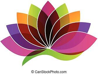 Loto flor logo