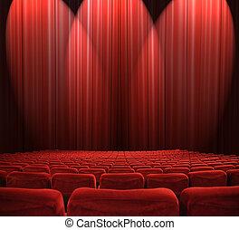 luces, auditorio