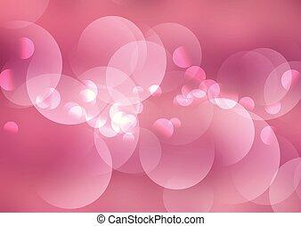 Luces de color rosa 1107