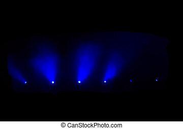 Luces de disco