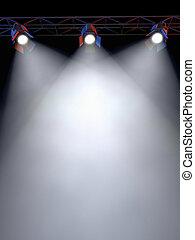 Luces de escenario