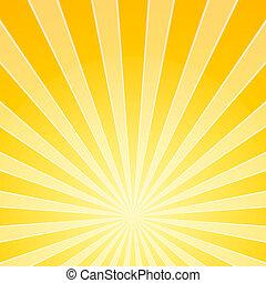 Luces de luz amarilla