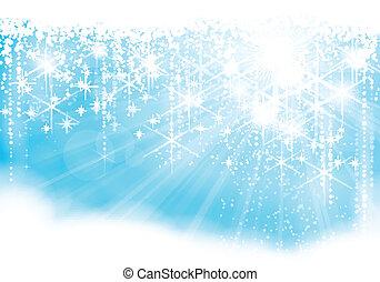 Luces de Navidad brillante