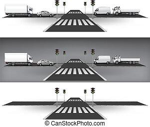Luces de tráfico verdes