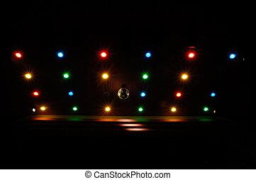 Luces disco