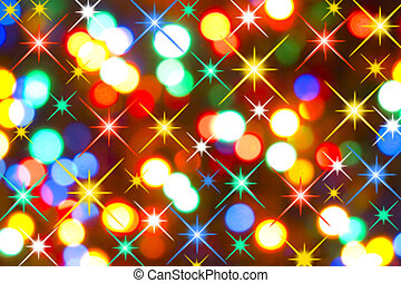 luces, feriado