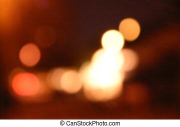 luces, mancha