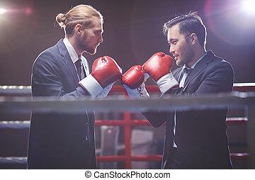 Lucha de negocios