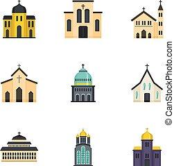 Lugar de adoración, estilo de dibujos animados