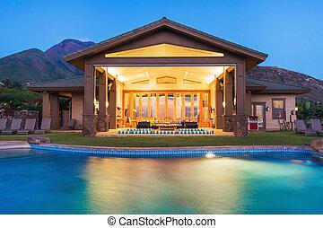 Lujo a casa con piscina