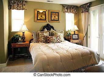 lujo, dormitorio