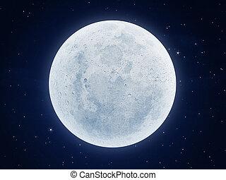 luna, noche