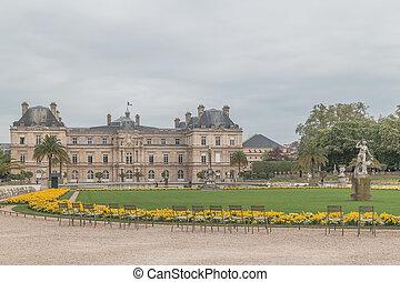Luxemburgo palase in Paris, Francia