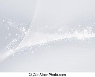 Luz blanca borrosa