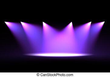 Luz de escena