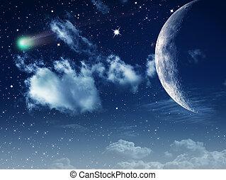 Luz de luna. Abstrae los antecedentes naturales para tu diseño
