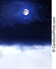 Luz de luna y sueños nocturnos...