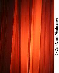 Luz de mancha contra cortina