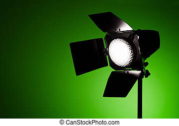 Luz de pantalla de estudio