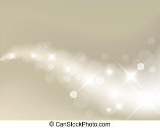 luz, plano de fondo, plata, resumen