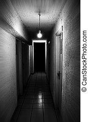 luz, sótano