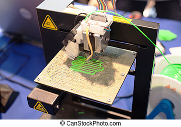 Máquina de impresión tridimensional