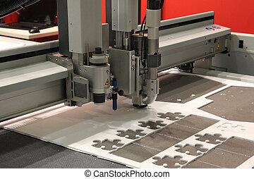 Máquina de perforación CNC