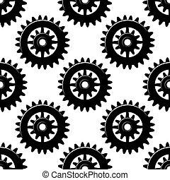 Máquinas engranajes y piniones sin marcas