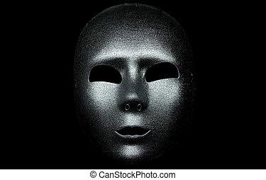 máscara, plata