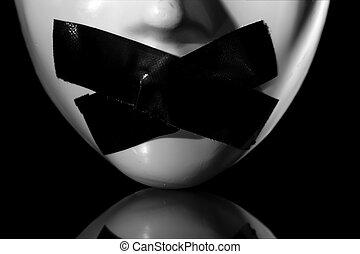 Máscara silenciosa
