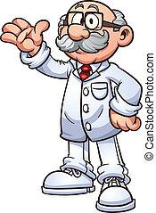 Médico de dibujos animados
