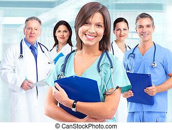 Médico de salud.