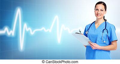 Médico doctor cardiólogo.