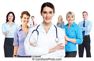 Médico mujer.