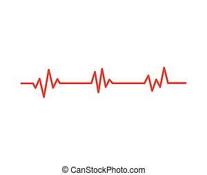 médico, pulso, salud, latido del corazón