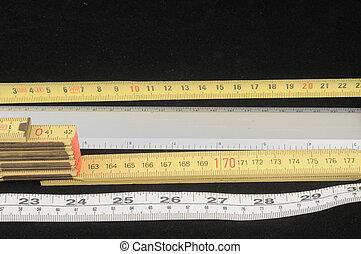 método, metro, medida