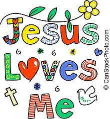 mí, amores, jesús