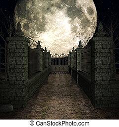 místico, cementerio