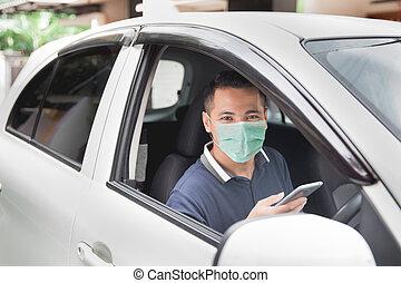 móvil, conducción, mientras, teléfono