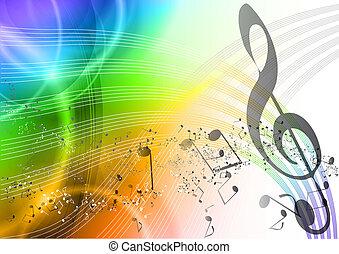 Música arco iris